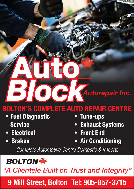Auto Block Auto Repair Inc.